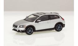 Volvo C30, редкий цвет полированный алюминий, масштабная модель, Bauer/Cararama/Hongwell, scale72