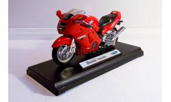Honda CBR1100XX, масштабная модель мотоцикла, Welly, 1:18, 1/18