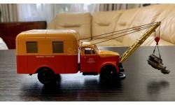 SL174  Автомастерская ГОСНИТИ 1 на шасси ГАЗ-51 СарЛаб, масштабная модель, 1:43, 1/43