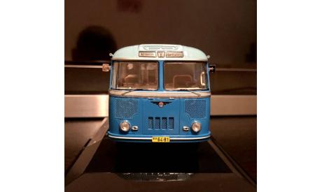 ПАЗ-652 1960 г., маршрут 'Автовокзал - Шамсиобод' Dip models, масштабная модель, 1:43, 1/43