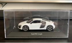 Audi R8 V10 Coupe ibis white 2012 г. Schuco