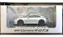 Porsche 911 Carrera 4 GTS silver .Herpa, масштабная модель, 1:43, 1/43