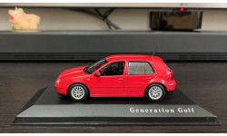 Volkswagen Golf  Mk4 GTI.  Minichamps 1:43