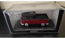 VW T1 Double Cabin 1961 NOREV, масштабная модель, scale43, Volkswagen