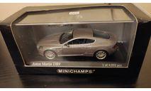 Aston Martin DB9 2003 Minichamps, масштабная модель, scale43
