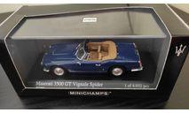 Maserati 3500 GT Vignale 1961 Minichamps, масштабная модель, scale43