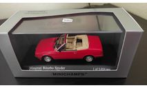 Maserati Biturbo Spyder 1986 Minichamps, масштабная модель, scale43