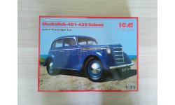 Сборная модель автомобиля МОСКВИЧ 401-420 от ICM, сборная модель автомобиля, scale35