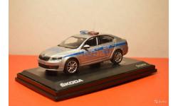 Skoda Octavia Полиция ДПС Москва, масштабная модель, Abrex, scale43