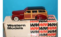 Western Models (WMS 96 - 1/43) - 1941 Buick Factory Estate Wagon, масштабная модель, scale43
