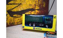 Scania 124/400 (самосвал)  New Ray 1:43, масштабная модель, New-Ray Toys, scale43