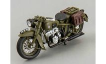 Мотоцикл ммз М-72 1941 г, масштабная модель мотоцикла, scale43