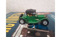 VINTAGE MATCHBOX MODELS OF YESTERYEAR Y6 GREEN 1913 CADILLAC, масштабная модель, scale43