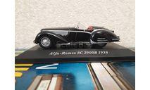 Alfa Romeo 8C 2900 B 1938, масштабная модель, IXO, scale43
