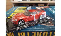 Chevrolet Corvette Z51 Coupe, журнальная серия Суперкары (DeAgostini), scale43