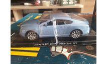 Bentley Continental GT, журнальная серия Суперкары (DeAgostini), scale43