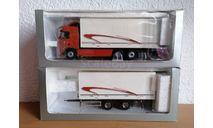 Вольво Volvo FH12 460 Rigid контейнеровоз с прицепом 1:43 Motorart, масштабная модель, scale43