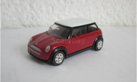 Mini Cooper 1:43 Welly, масштабная модель, scale43