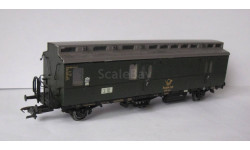 Модель железнодорожного вагона , производство Electiotren . Масштаб НО, железнодорожная модель