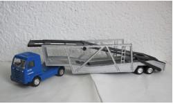 Тягач SCANIA с полуприцепом для перевозки автомобилей 1:43