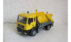 MAN мусоровоз 1:55 Siku, масштабная модель, scale50