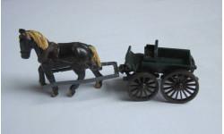 Телега с лошадью 1:87 НО 16,5 мм