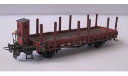 Модель железнодорожного вагона , производство Western Germany . Масштаб НО, железнодорожная модель
