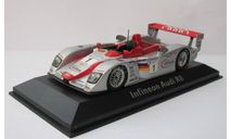 Audi R8 Le Mans №1 1:43 Minichamps, масштабная модель, scale43