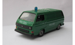 Volkswagen Transporter T3 1:43 Schabak Polizei, масштабная модель, scale43