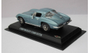 Chevrolet Corvette 1:43 Del Prado, масштабная модель, scale43