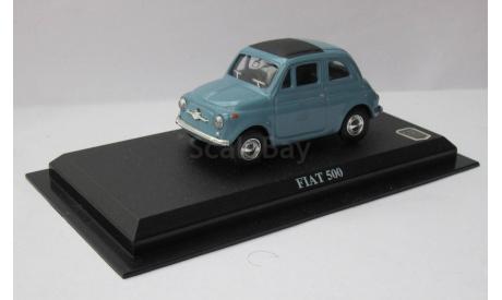 Fiat 500 1:43 Del Prado, масштабная модель, scale43