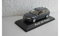 Ауди Audi A6 Avant 1:43 Minichamps, масштабная модель, scale43