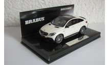 Mercedes-Benz 850 4x4 Coupe GLE 63  1:43 Minichamps Brabus, масштабная модель, scale43