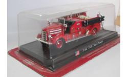 Mack Pumper 1948 1:64 DEL PRADO Пожарная машина, масштабная модель, 1/64