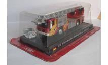 Iveco Magirus Drehleiter DLK 23-12 1:72 DEL PRADO Пожарная машина, масштабная модель, scale72