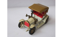 Opel Coupe 1909 1:43 Matchbox Lesney ретро автомобиль