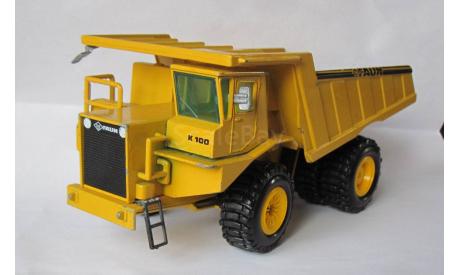 Самосвал грузовик FAUN MULDENKIPPER K55.5 K100 1:50 GAMA, масштабная модель, scale50