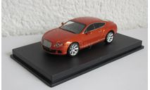 Bentley Continental GT 2011 1:43 Minichamps, масштабная модель, scale43
