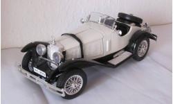 Mercedes-Benz SSK 1:18 Burago Italy, масштабная модель, scale18, Mersedes