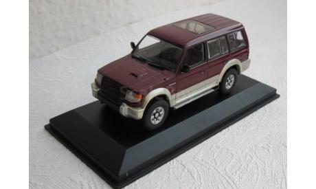 Mitsubishi Pajero 1:43 Minichamps, масштабная модель, scale43