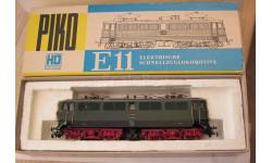 Локомотив электролокомотив PIKO H0 BR E11 022 масштаб 1:87 HO, железнодорожная модель