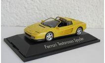 Ferrari Testarossa Spyder 1:43 Herpa, масштабная модель, scale43