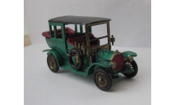 Mercedes Benz Limousine 1910 1:43 Matchbox Lesney ретро автомобиль, масштабная модель, scale43, Mersedes