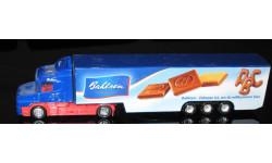 Scania T124L Koffer-Sz 1:87