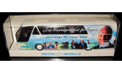 Модель автобуса  Neoplan starliner n 516 shdl 1/87 Rietzе, масштабная модель, 1:87, Rietze