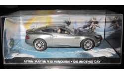 007 ДЖЕЙМС БОНД 1/43 Aston Martin V12 Vanquish, масштабная модель, 1:43