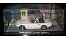 007 ДЖЕЙМС БОНД 1/43 Toyota 2000gt, журнальная серия The James Bond Car Collection (Автомобили Джеймса Бонда), 1:43