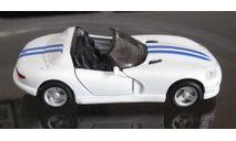 Maisto 1:39 Dodge viper RT/10, масштабная модель
