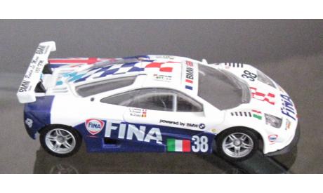 1:43 BMW 1996 McLaren F1 GTR 38 команда bigazzi Fina, масштабная модель, 1/43
