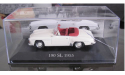 Мерседес Mersedes 190SL 1955 1:43 Altaya, масштабная модель, 1/43, Mercedes-Benz